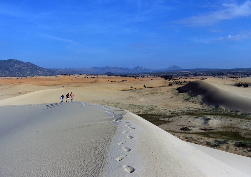 Dunes du Cap Padara, Sud-Vietnam