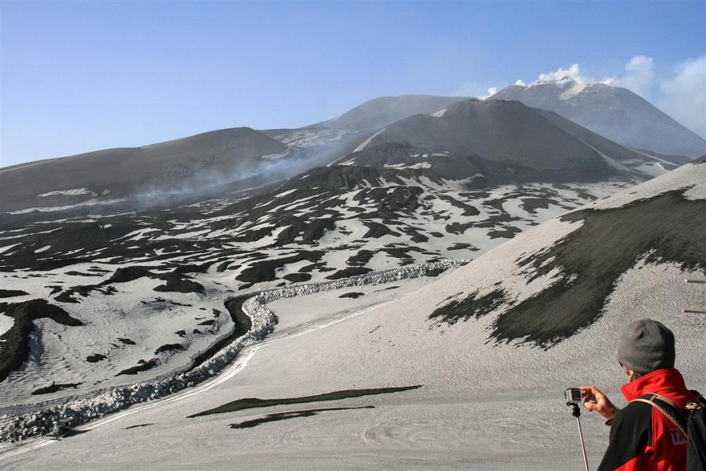 Versant sud du volcan Etna - Sicile - Italie