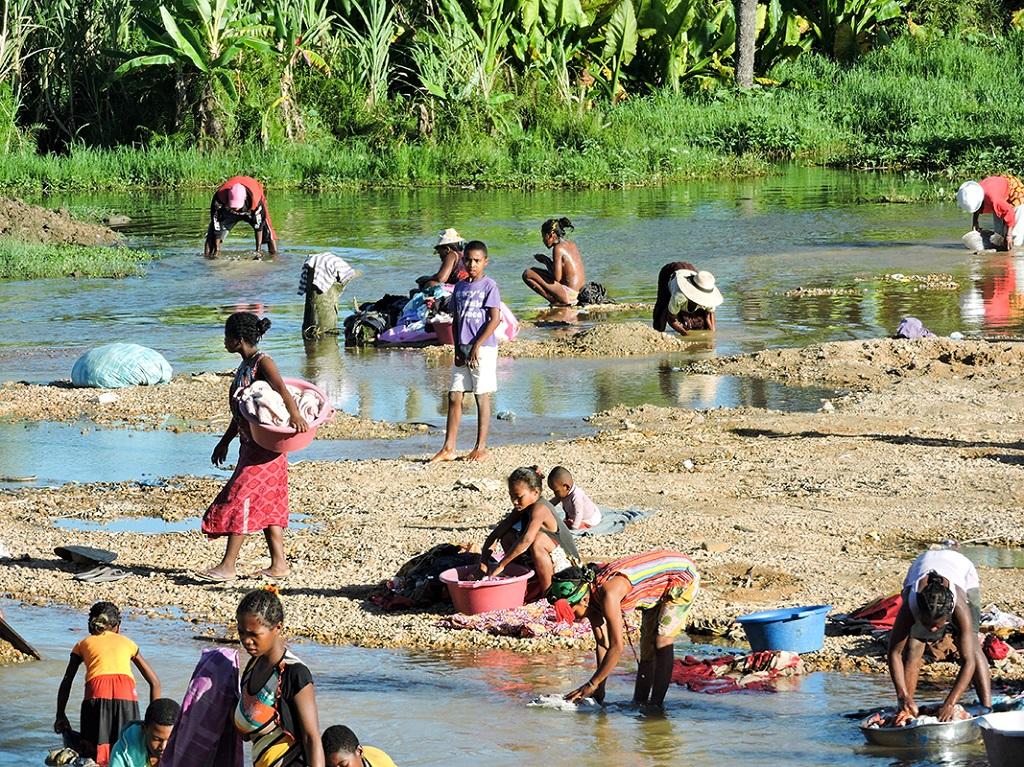 Vers le parc national de l'Isalo - Madagascar