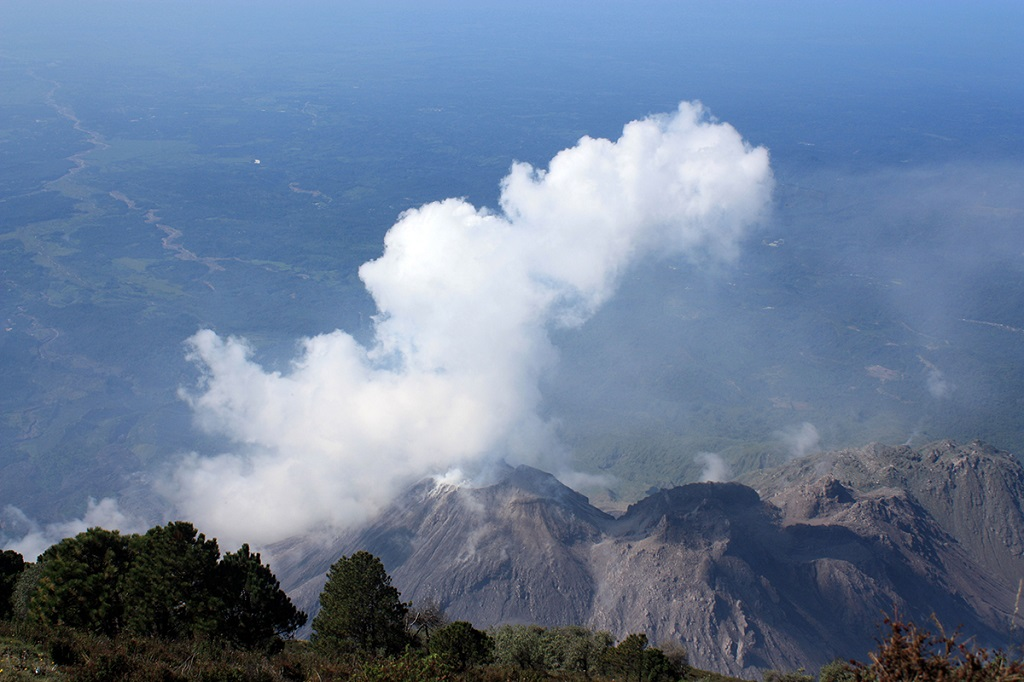 Ascension du volcan Santa Maria, Guatemala