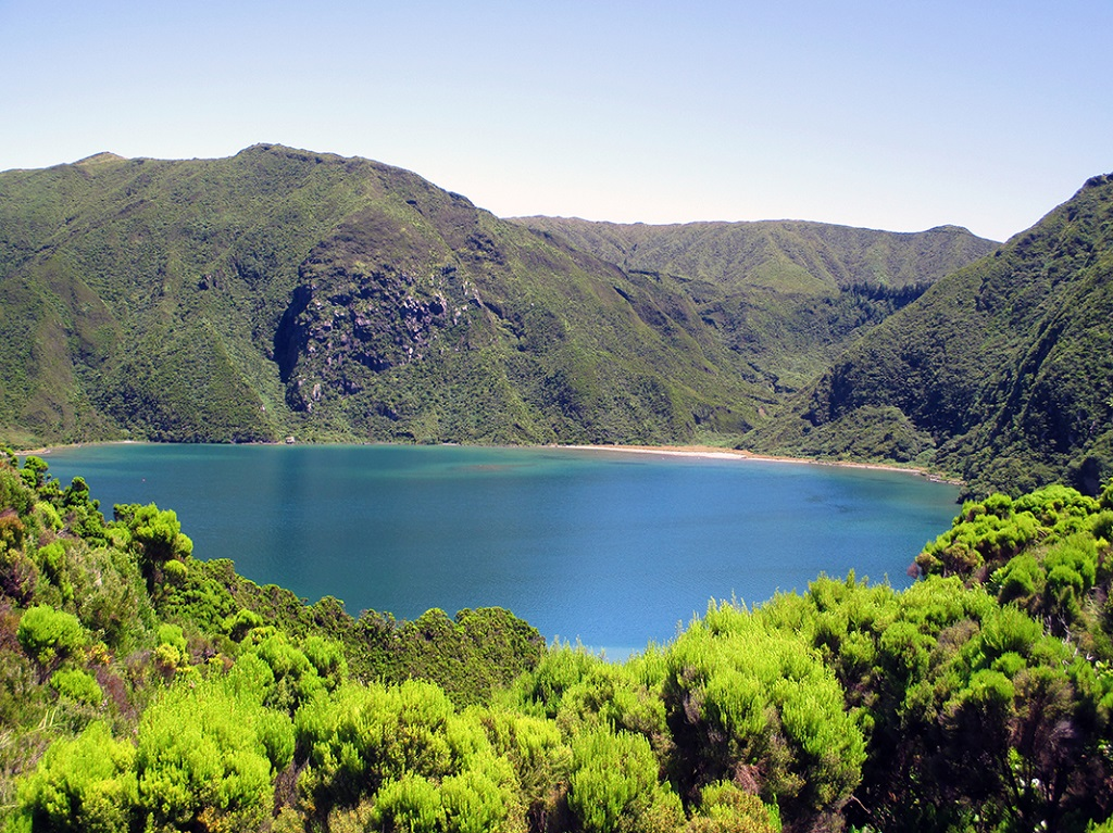 Lagoa do fogo - Açores, Portugal