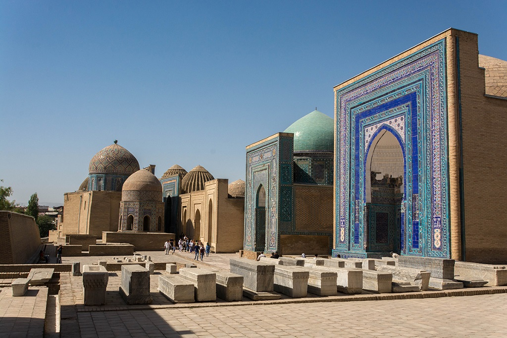 Nécropole de Chakhi-Zinda, Ouzbékistan