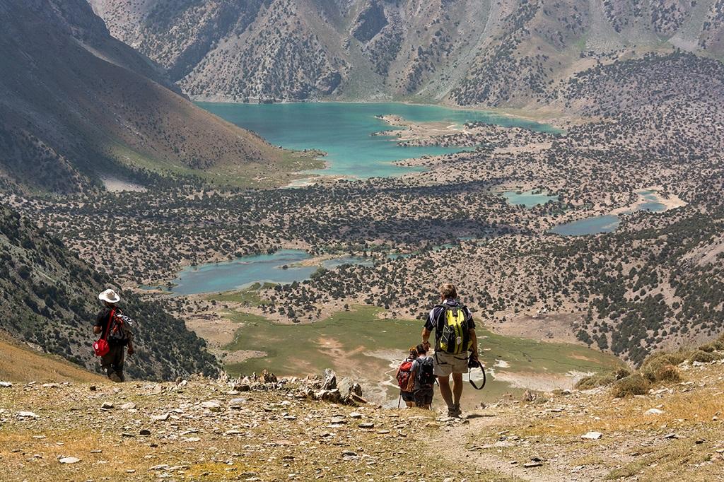 Lacs de Koulikalon et Monts Fanskye, Tadjikistan