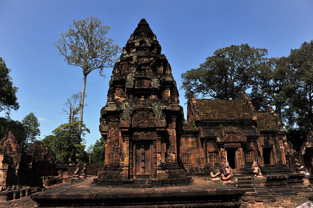 Le temple de Banteay Srei - Citadelle des femmes - Cambodge