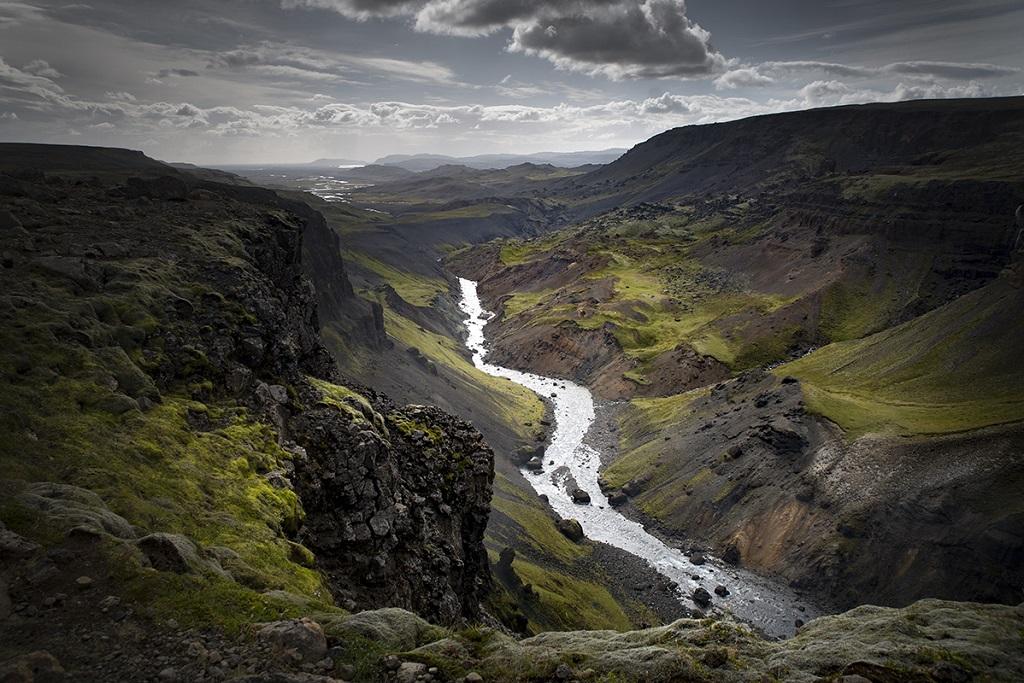 L'Eldgjá, région du Suðurland