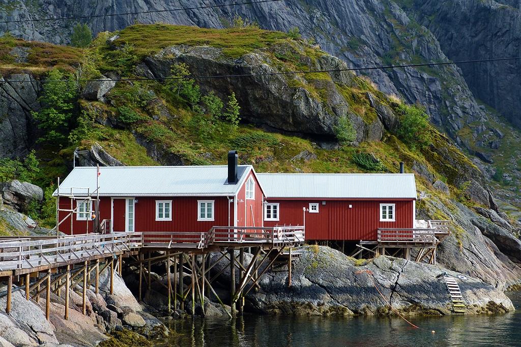 Rorbus, Îles Lofoten