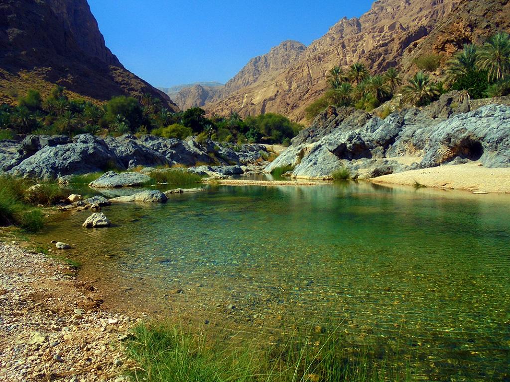 Wadi Taab, Oman