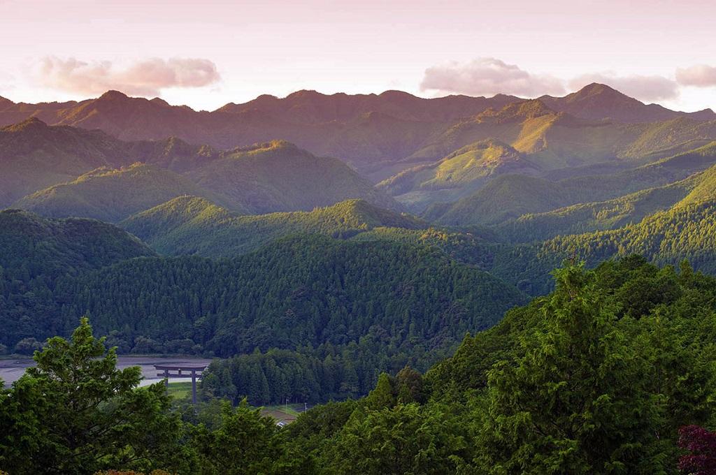Les montagnes de Kumano