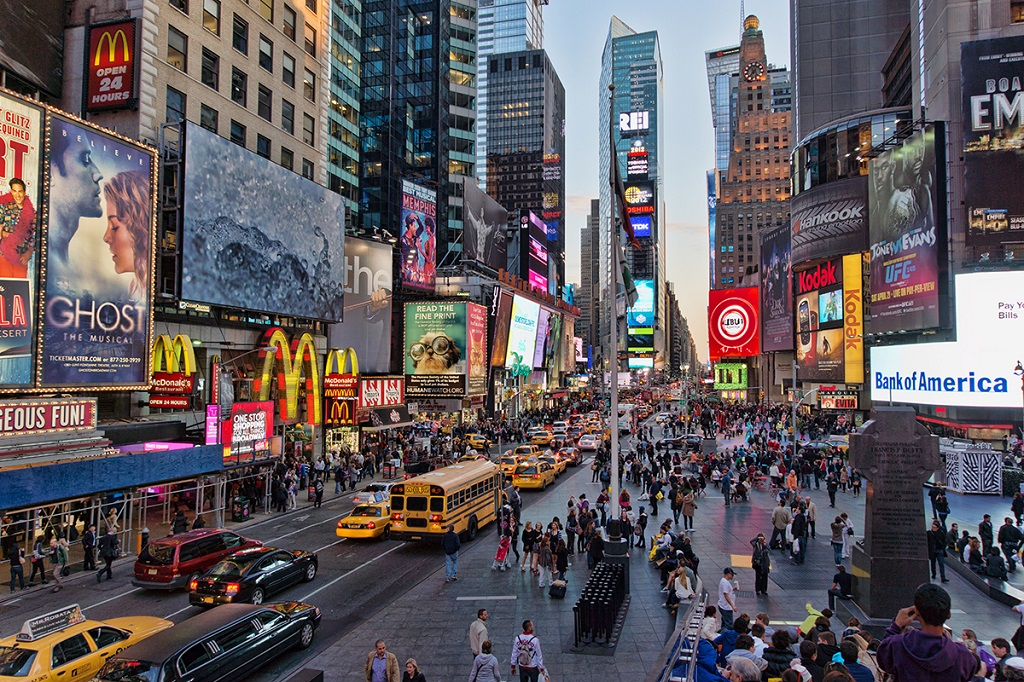 Times Square - Manhattan - New York - États-Unis