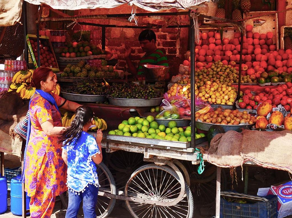 Marché de Bikaner - Rajasthan - Inde