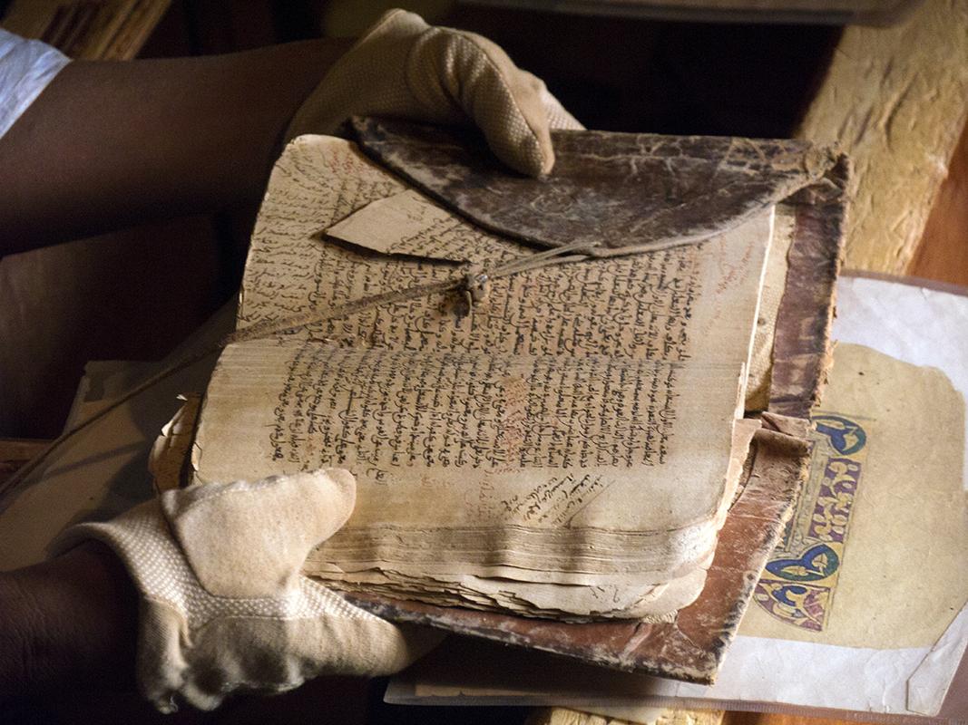 Bibliothèque Chinguetti, Les oasis de l'Adrar