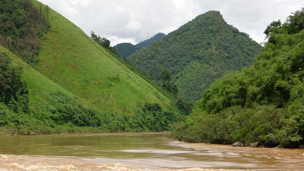Rivière Sékong, Haut Sékong, Laos