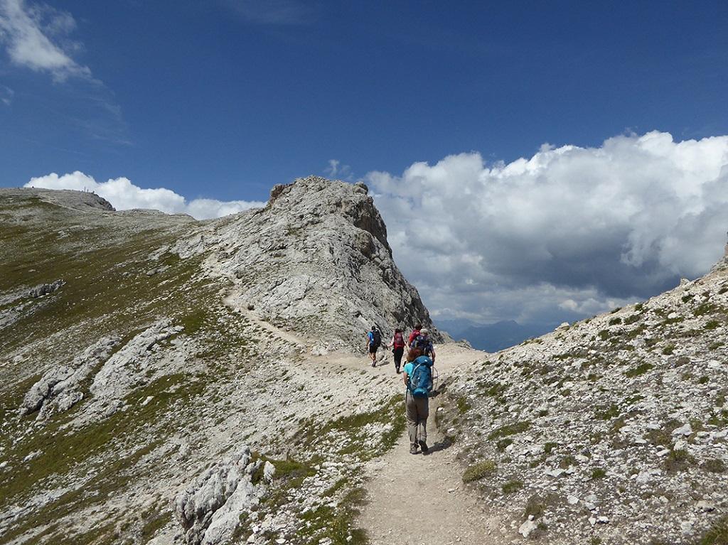 Antécime du Peitlerkofel - Massif de la Putia - Dolomites - Italie