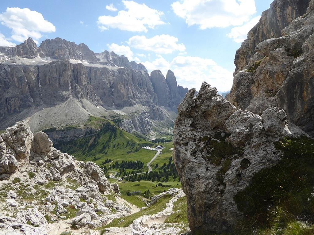Passo Gardena - Dolomites - Italie