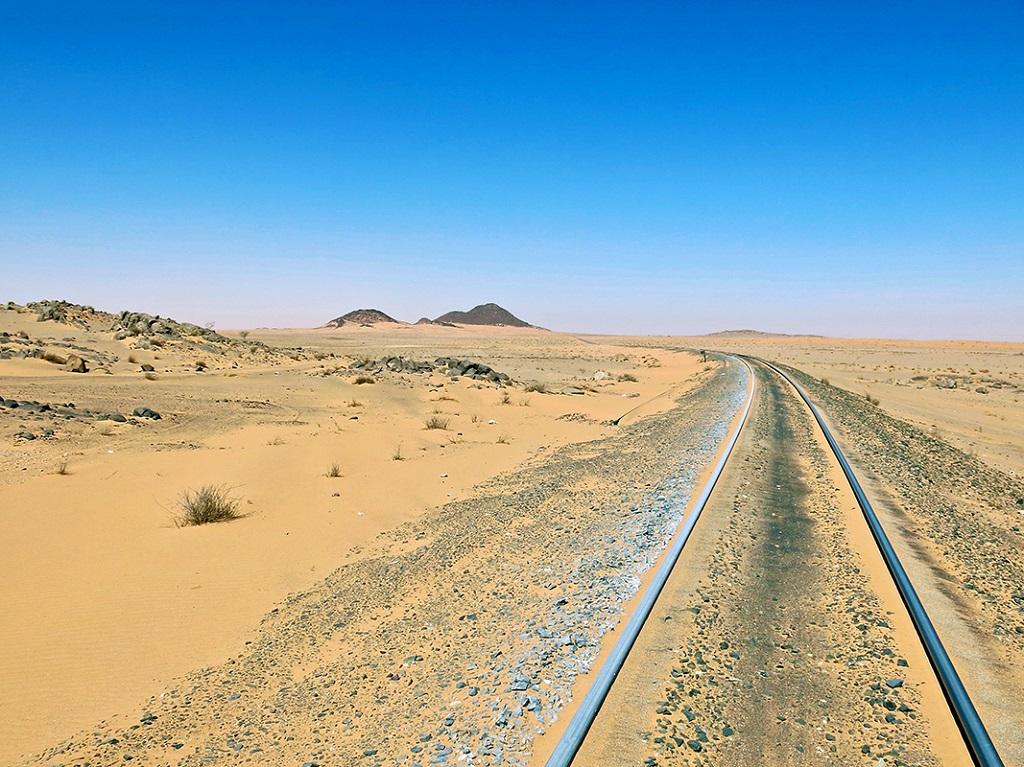 Région de Ben Amira, le train du désert, Mauritanie - ©Yann Guiguen