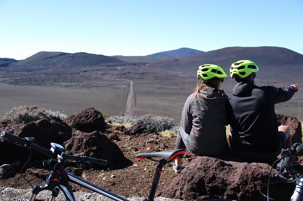 La plaine des sables à vélo, La Réunion