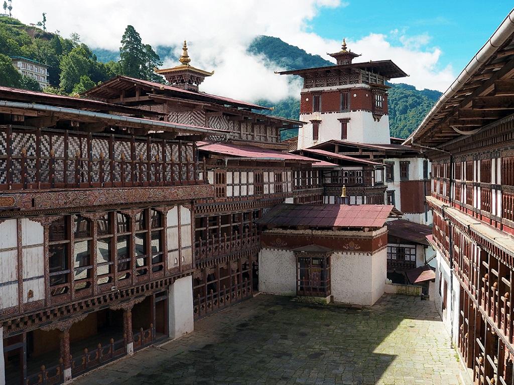 Architecture traditionnelle, Dzong de Trongsa - ©Thomas Callens