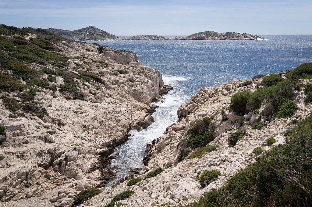 Parc National des Calanques, entre Callelongue et Marseilleveyre  - ©Gwennaëlle Wit