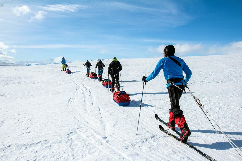 Raid à ski au Spitzberg - ©Gaëlle Grande