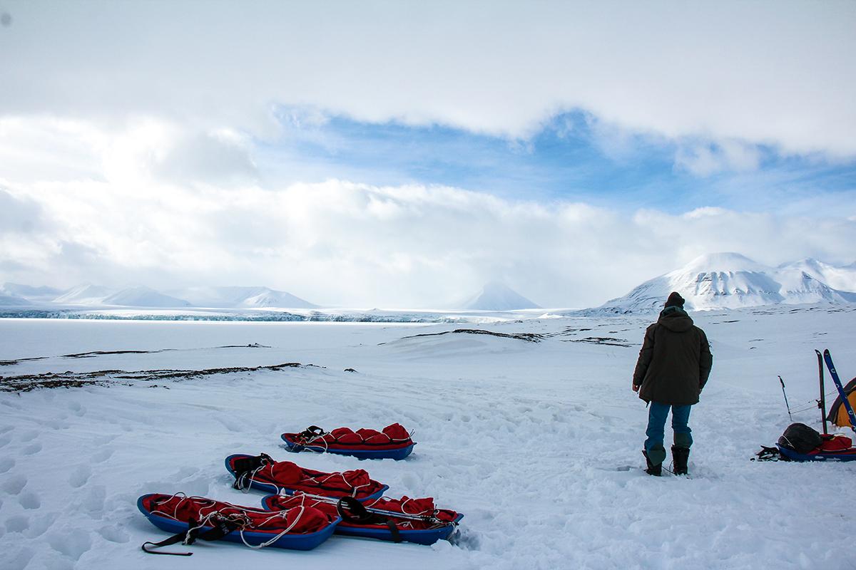 Vue sur le glacier, Spitzberg, Norvège - ©Gaëlle Grande