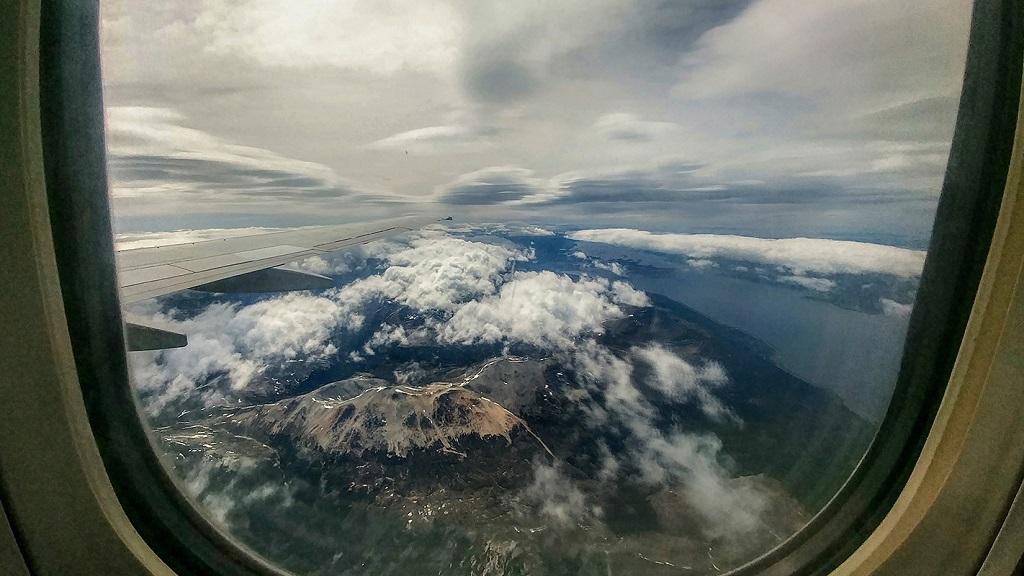 Vue depuis l'avion - ©Julie Varlet