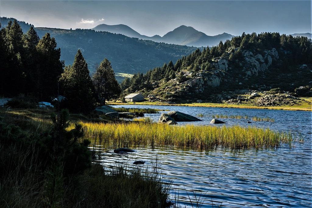 A 1950 mètres d'altitude, l'estany de la Pradella, ou lac de Pradeilles, est un lieu idyllique, entouré de pins et d'herbes folles - ©Lefalherjeanluc / Adobe Stock
