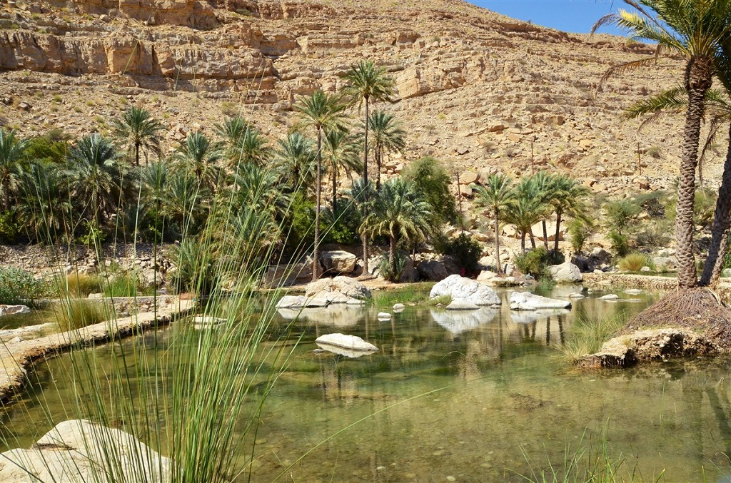 Wadi Bani Khaled, Oman
