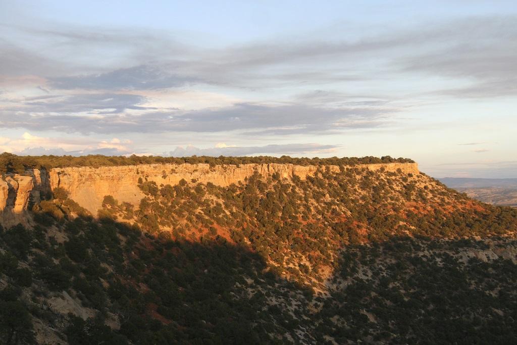 Coucher de soleil au Nord du Colorado