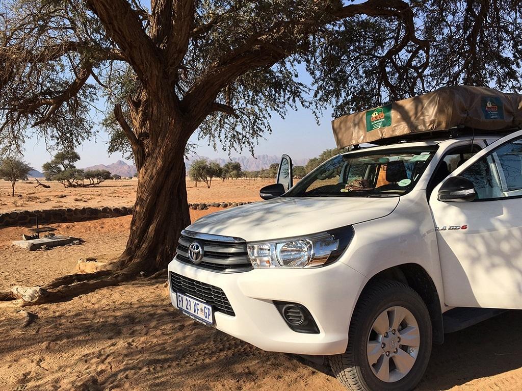 Campement en Namibie