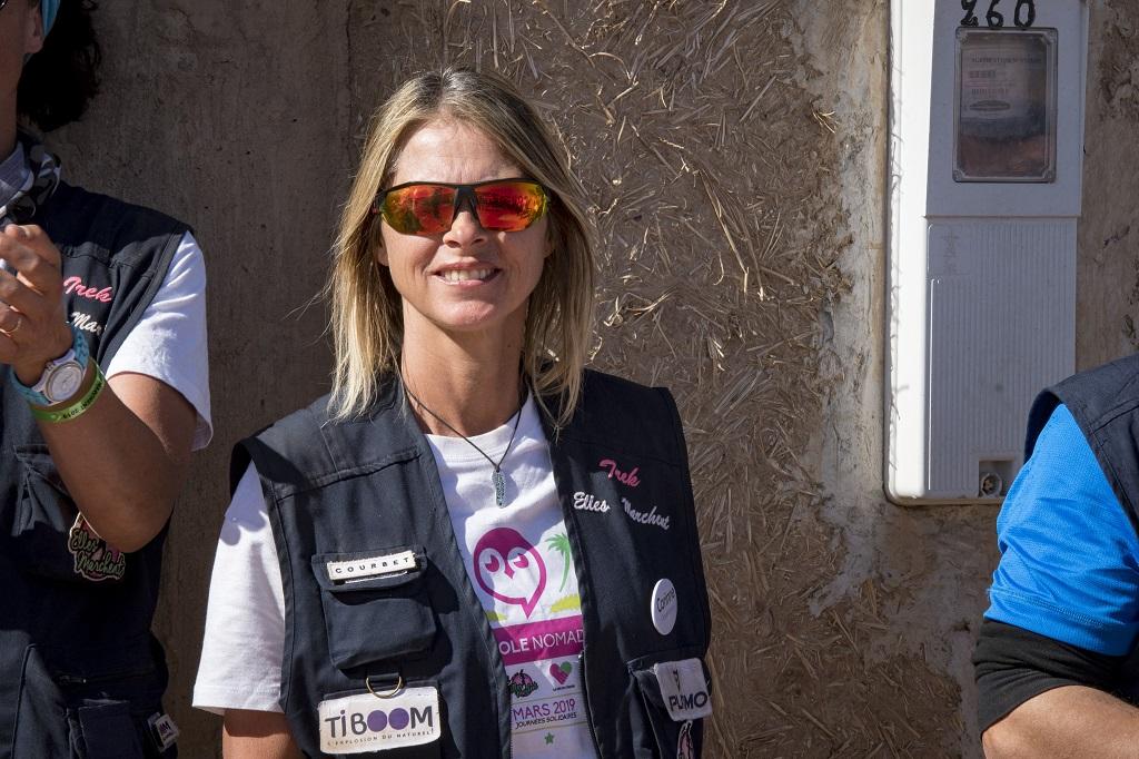 Corinne Péron, fondatrice du Trek Elles Marchent - ©E.Montgobert - J-L.Ginolin
