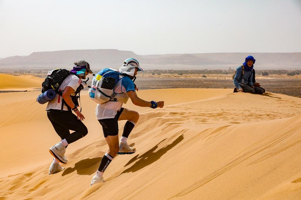 Gravir les dunes n'est pas chose aisée