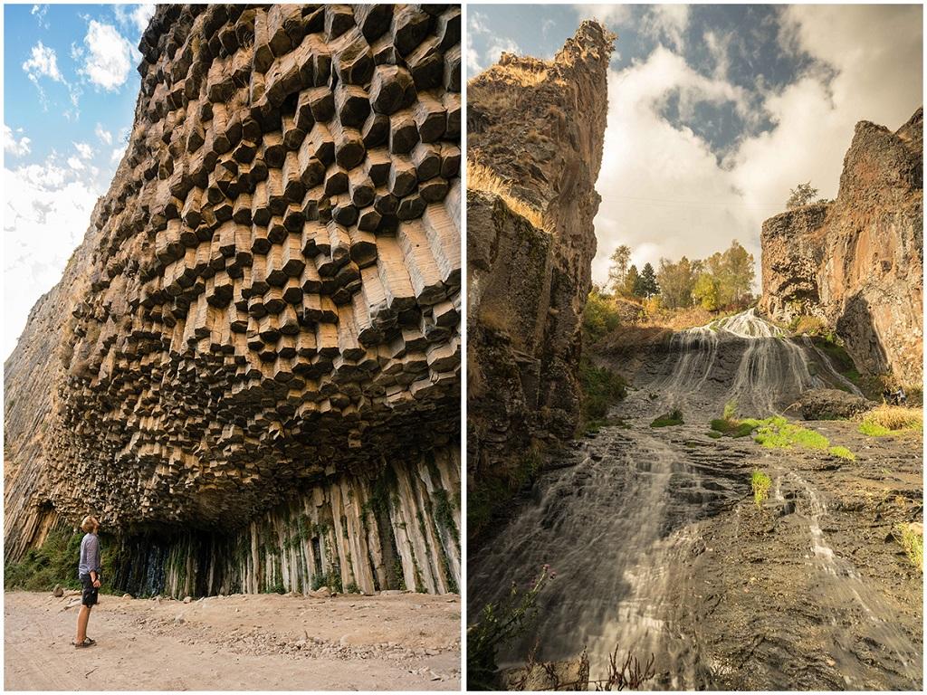 Gorge Garni et Cascade Jermuk