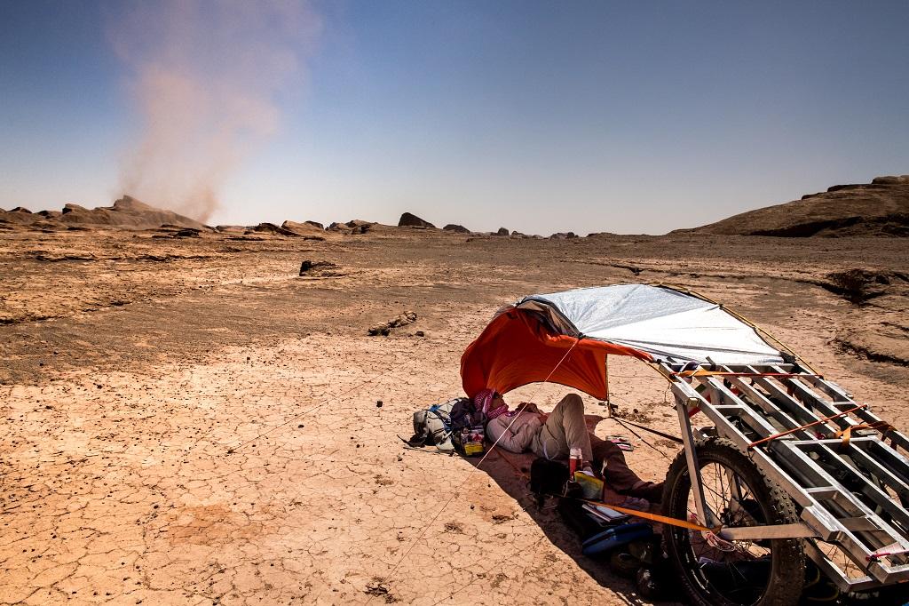 Tornade dans le désert