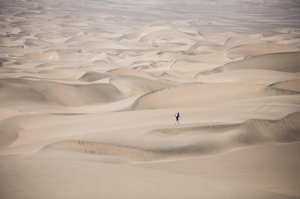 Julien Chorier à l'assaut des dunes