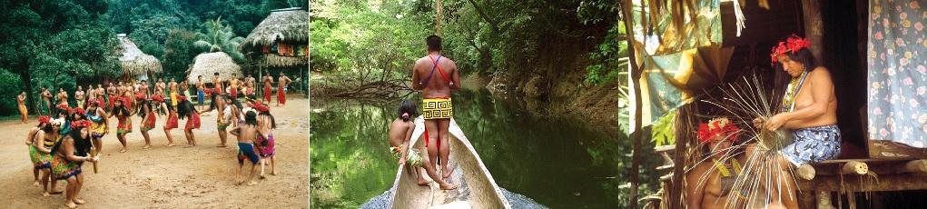Les Indiens Emberas - ©IPAT Panama
