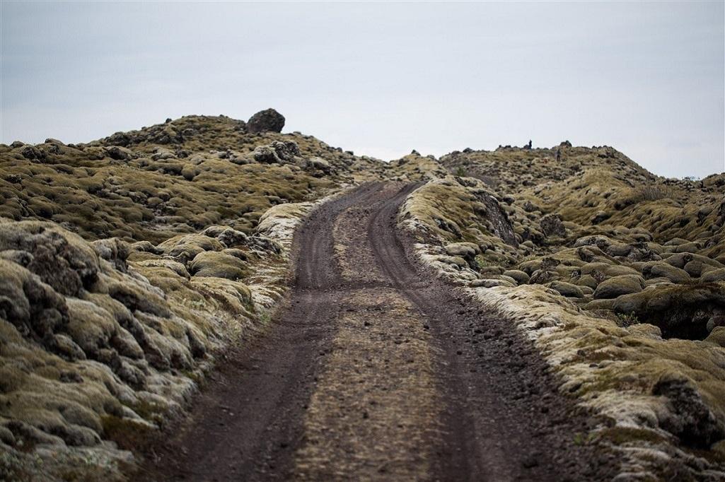 Route dans la région d'Eldhraun - ©Quentin Gaudillère