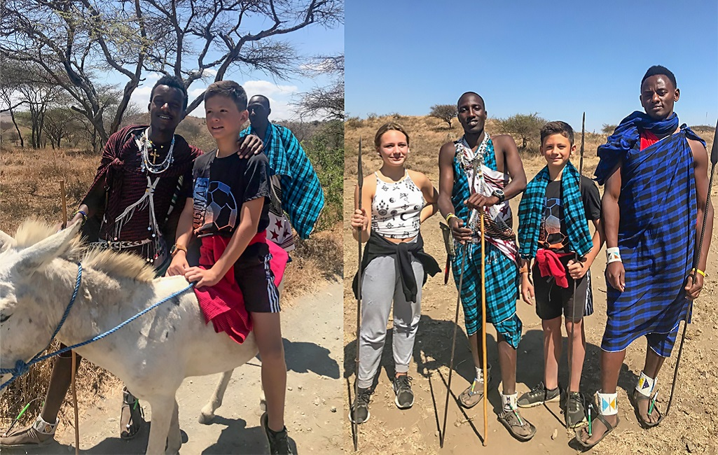 Nos rencontres avec les Maasais - ©Sandrine Perrot