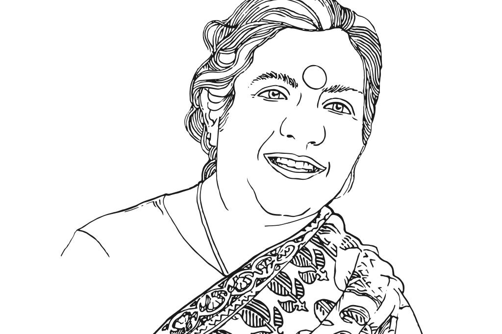 Portrait de Vandana Shiva