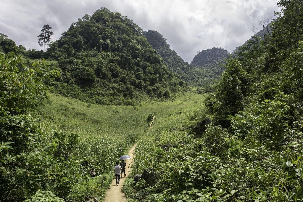 Massif de Mo Xat, dans les environs du village de Nam Ngu