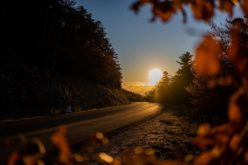 Coucher de soleil sur le Mont Ventoux - ©Wheeled World