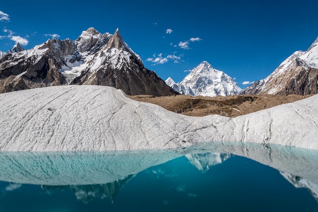 Mont K2, massif du Karakoram