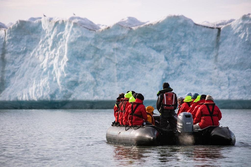 Glacier Negribreen - ©Gwennaelle Wit