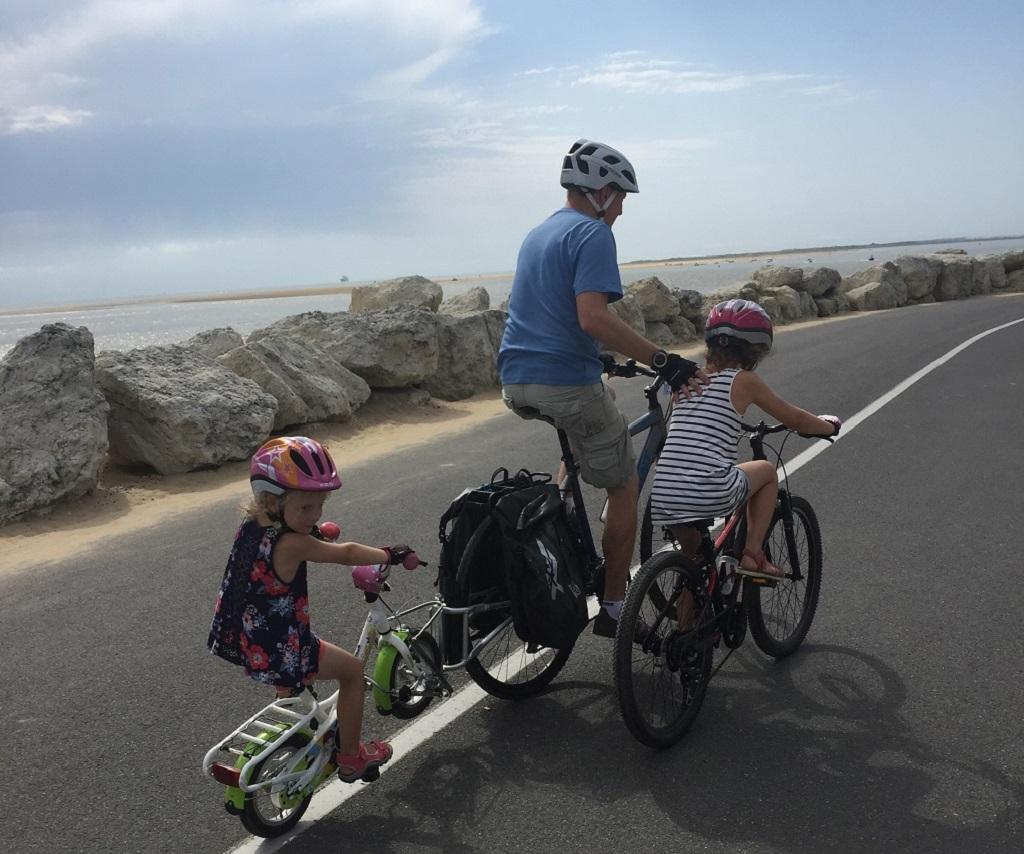 Balade à vélo, au rythme de toute la famille - ©Caroline Laurent