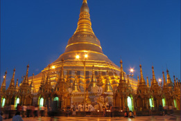 Yangon et le Rocher d'Or