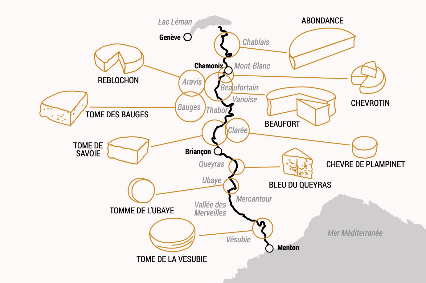 Route des fromages © Kristof Chemineau