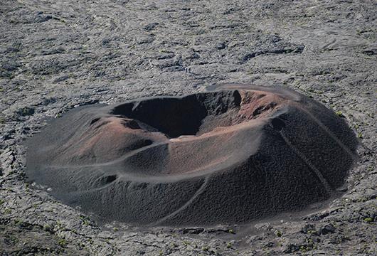 Grand tour de l'île volcan