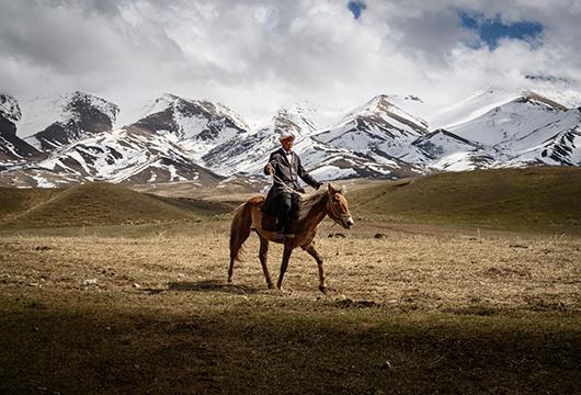 La vie kirghize